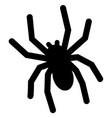 spider hallowen animals vector image vector image