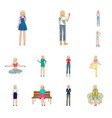 woman and body sign vector image