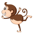 a monkey vector image vector image