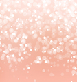 Abstract Lights on Pink Background vector image