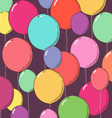 Balloon background vector image vector image