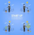 Business Timeline Infographics vector image