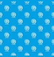 cucumber pattern seamless blue vector image vector image