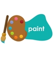 Paint icon design vector image