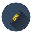 Party petard icon vector image vector image