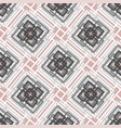 seamless abstract pattern from rectangle vector image vector image