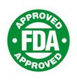 us food and drug administration fda approved stamp
