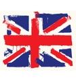 UK paint flag vector image
