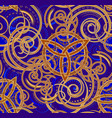 rich decorated seamless pattern ornament vector image