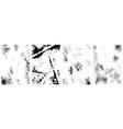 set vintage grunge textures design element vector image vector image