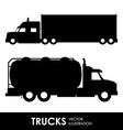 truck deign vector image vector image