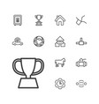 13 eps icons vector image vector image