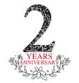 Anniversary Celebration Design vector image vector image