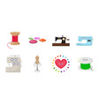 atelier and equipment icons in set collection for vector image vector image