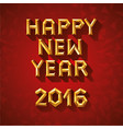 concept of happy new year in vector image