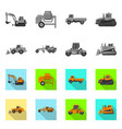 design of build and construction icon vector image