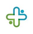 Health Medical Logo vector image
