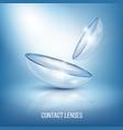 Realistic eye lenses composition