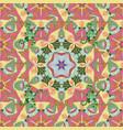 tiled mandala design best for print fabric or vector image vector image
