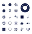 22 3d icons vector image vector image