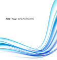 Abstract curve futuristic background vector image vector image