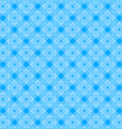 abstract geometric shapes pattern blue background vector image vector image