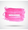 Abstract Pink Grunge Splash Banner EPS10 vector image vector image