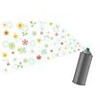 aerosol and flowers