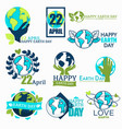 earth day ecology and environment protection vector image vector image