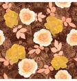 floral seamless Isolated vector image vector image