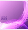 geometric light purple color graphic vector image