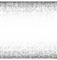 halftone gradient pattern background halftone vector image vector image