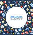 healthcare industry social media banner vector image