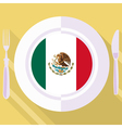 kitchen of Mexico vector image vector image