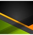Minimal geometric concept tech background vector image