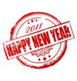 New year 2011 stamp vector | Price: 1 Credit (USD $1)