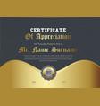 royal golden certificate appreciation