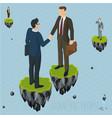 fantasy business concept vector image