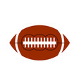 ball american football oval iconon white stock vector image