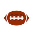 ball american football oval iconon white stock vector image vector image