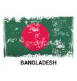 bangladesh flag design vector image
