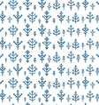 Different snowflake seamless pattern Design vector image vector image