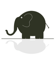 elephant color vector image vector image