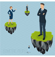 fantasy business concept vector image vector image