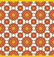 ornamental seamless pattern geometric vector image vector image