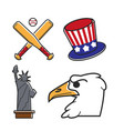 most common symbols of united states of america
