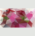 abstract polygonal background rose pink mauve vector image vector image