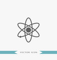 atom icon simple vector image