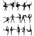 Ballet dancers vector image vector image
