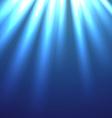 beautiful of rays lights vector image